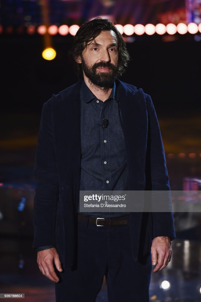 Andrea Pirlo attends E poi c'e' Cattelan TV Show on March 29, 2018 in Milan, Italy.