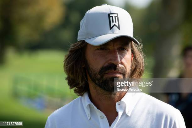 Andrea Pirlo attends ProAm Fondazione Vialli Mauro Golf Cup at Royal Park Golf Country Club on September 02 2019 in Turin Italy
