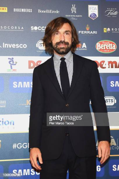 Andrea Pirlo attends the 'Oscar Del Calcio AIC' Italian Football Awards on December 3 2018 in Milan Italy