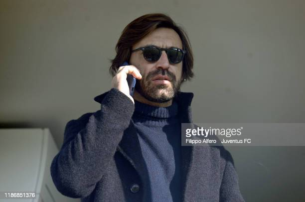 Andrea Pirlo during the Primavera 1 match between Juventus U19 and Torino U19 at Juventus Center Vinovo on December 7, 2019 in Vinovo, Italy.