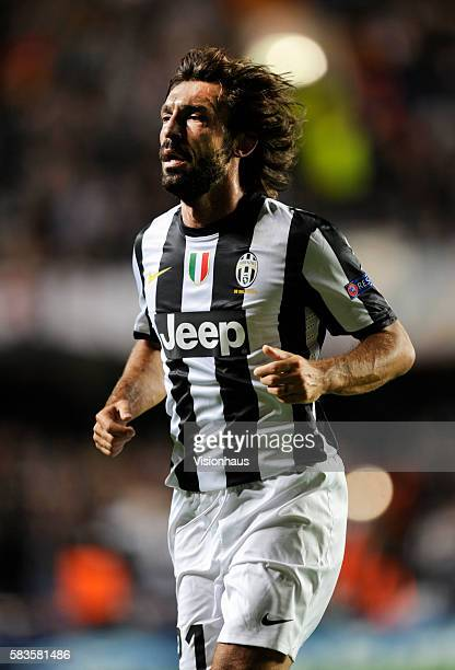 Andrea Pirlo of Juventus during the UEFA Champions League Group E match between Chelsea and Juventus at Stamford Bridge in London UK Photo...