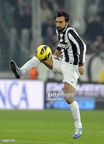 Andrea Pirlo of Juventus FC during the Serie A match between Juventus FC and FC Internazionale Milano at Juventus Arena on November 3 2012 in Turin...