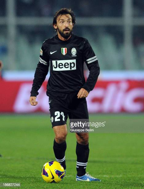 Andrea Pirlo of Juventus in action during the Serie A match between Pescara and Juventus FC at Adriatico Stadium on November 10 2012 in Pescara Italy