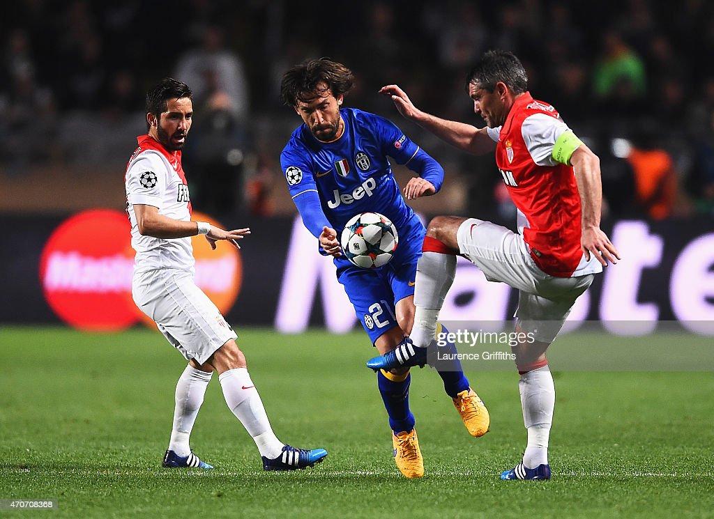 AS Monaco FC v Juventus - UEFA Champions League Quarter Final: Second Leg : News Photo