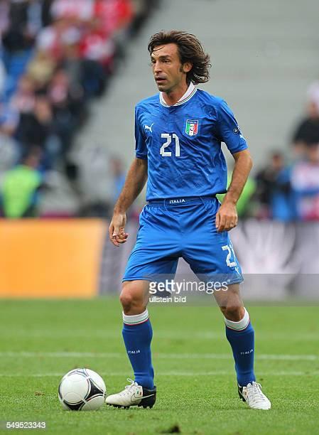 Andrea Pirlo Sport Fußball Fussball EM Europameisterschaft Euro 2012 Saison 2011 Italien vs Kroatien Croatia Nationalmannschaft Einzelbild...