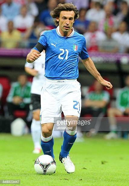 Andrea Pirlo Sport Fußball Fussball UEFA EM Europameisterschaft Euro 2012 Halbfinale Saison 2011 DFB GER BRDeutschland vs Italien Nationalmannschaft...