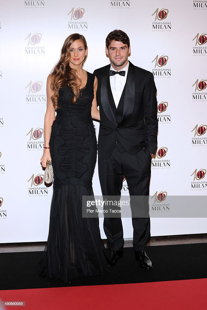 Fondazione Milan 10th Anniversary Gala - Red Carpet