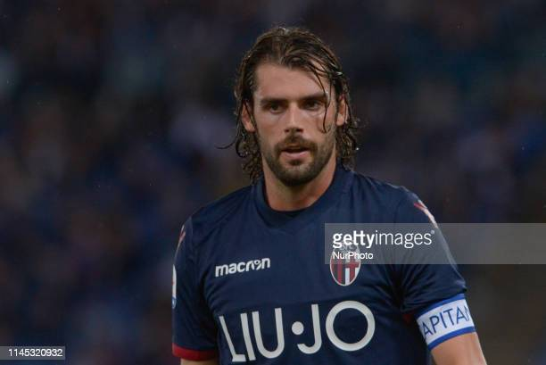 Andrea Poli during the Italian Serie A football match between SS Lazio and Bologna at the Olympic Stadium in Rome on may 20 2019