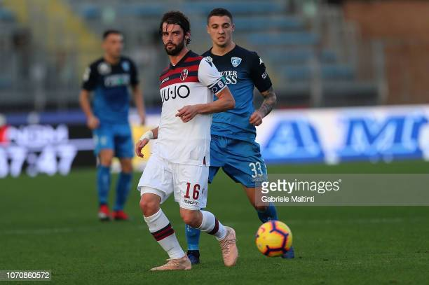 Andrea Poli of Bologna FC in action during the Serie A match between Empoli and Bologna FC at Stadio Carlo Castellani on December 9 2018 in Empoli...