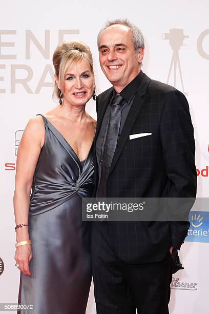 Andrea Rach and Christian Rach attend the Goldene Kamera 2016 on February 6 2016 in Hamburg Germany