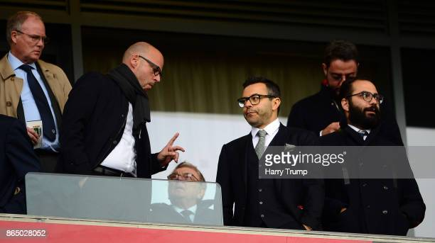Andrea Radrizzani Owner of Leeds United looks on during the Sky Bet Championship match between Bristol City and Leeds United at Ashton Gate on...