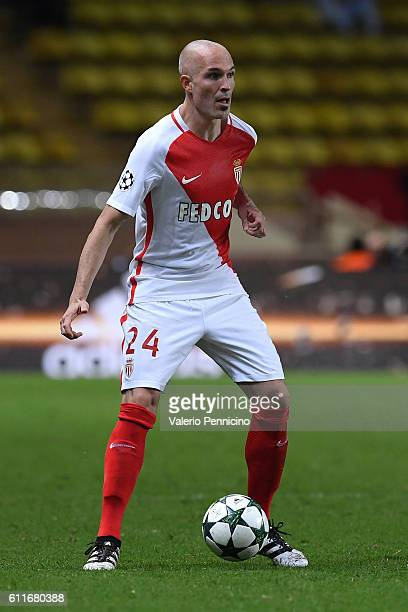 Andrea Raggi of AS Monaco FC in action during the UEFA Champions League Group E match between AS Monaco FC and Bayer 04 Leverkusen at Louis II...
