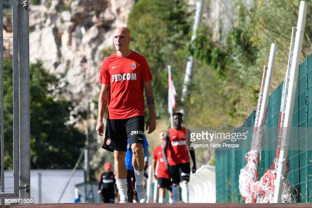 Andrea Raggi of Monaco during the training session of AS Monaco on July 5 2017 in Monaco Monaco