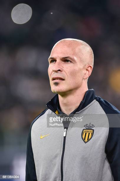Andrea Raggi of Monaco during the UEFA Champions League SemiFinal game 2 match between Juventus and Monaco at the Juventus Stadium Turin Italy on 9...