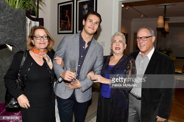 Andrea Renault Kaleb Szabo Rose Hartman and Asher Edelman attend Edelman Arts The Infamous Rose Hartman at Edelman Arts on November 17 2017 in New...