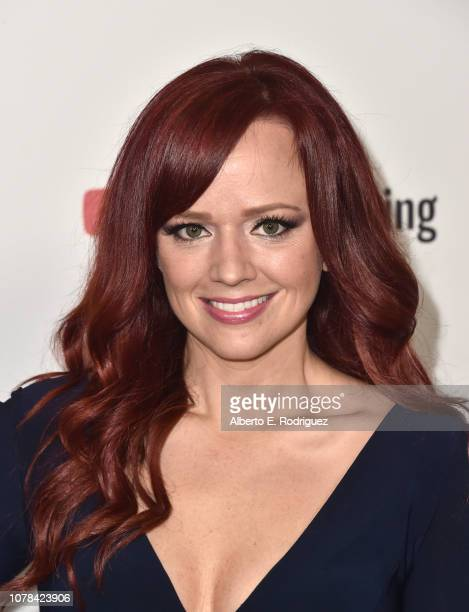 Andrea Rene attends The 2018 Game Awards at Microsoft Theater on December 06 2018 in Los Angeles California