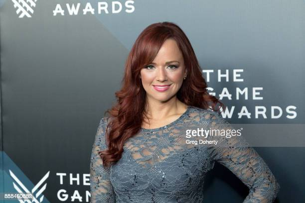 Andrea Rene attends The Game Awards 2017 at Microsoft Theater on December 7 2017 in Los Angeles California