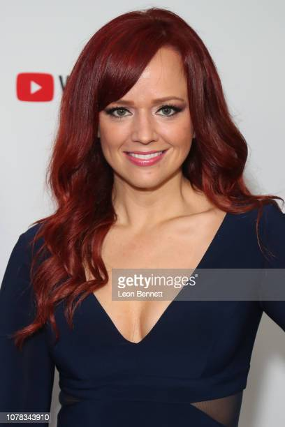 Andrea Rene attends The Game Awards 2018 at Microsoft Theater on December 06 2018 in Los Angeles California