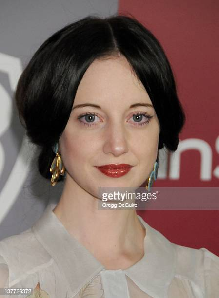 Andrea Riseborough arrives at the 12th Annual Warner Bros and Instyle PostGolden Globe Party at the Beverly Hilton Hotel on January 16 2011 in...