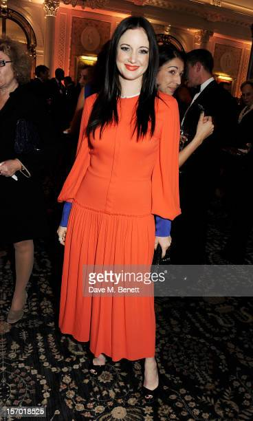 Andrea Riseborough attends a drinks reception at the British Fashion Awards 2012 at The Savoy Hotel on November 27 2012 in London England