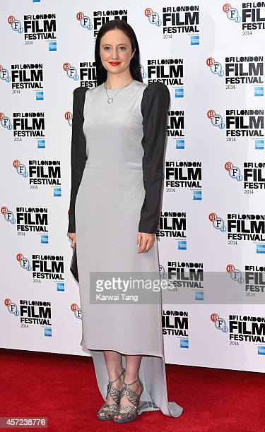 Andrea Riseborough attends a screening of 'Silent Storm' during the 58th BFI London Film Festival at Vue West End on October 14 2014 in London England