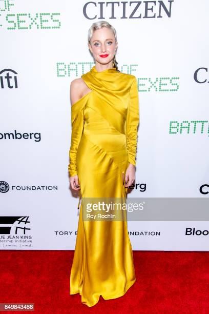 Andrea Riseborough attends 'Battle of the Sexes' special anniversary screening at SVA Theater on September 19 2017 in New York City