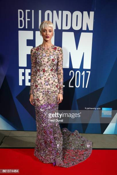 Andrea Riseborough attends the 61st BFI London Film Festival Awards on October 14 2017 in London England