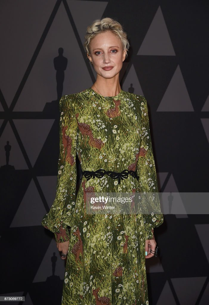Andrea Riseborough attends the Academy of Motion Picture Arts and Sciences' 9th Annual Governors Awards at The Ray Dolby Ballroom at Hollywood & Highland Center on November 11, 2017 in Hollywood, California.
