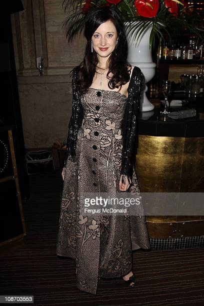 Andrea Riseborough attends the afterparty for the European premiere of Brighton Rock held at Criterion on February 1 2011 in London England