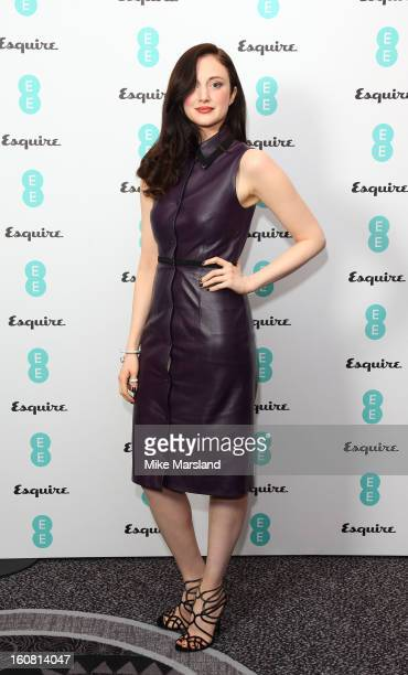 Andrea Riseborough attends the Bafta Rising Stars party hosted by EE and Esquire ahead of the 2013 EE British Academy Film Awards at The Savoy Hotel...