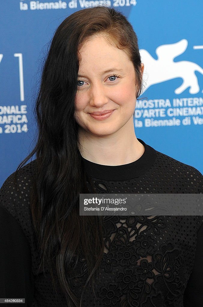 Andrea Riseborough attends the 'Birdman' photocall during the 71st Venice Film Festival on August 27, 2014 in Venice, Italy.