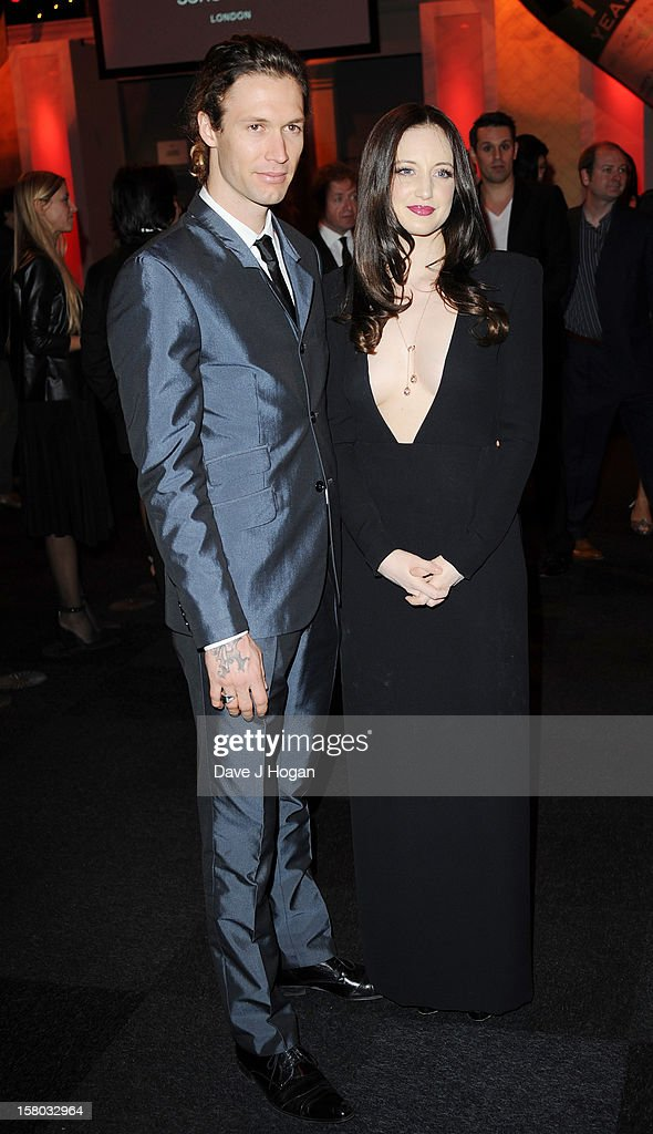 Andrea Riseborough (R) attends the British Independent Film Awards at Old Billingsgate in London on December 9, 2012 in London, England.