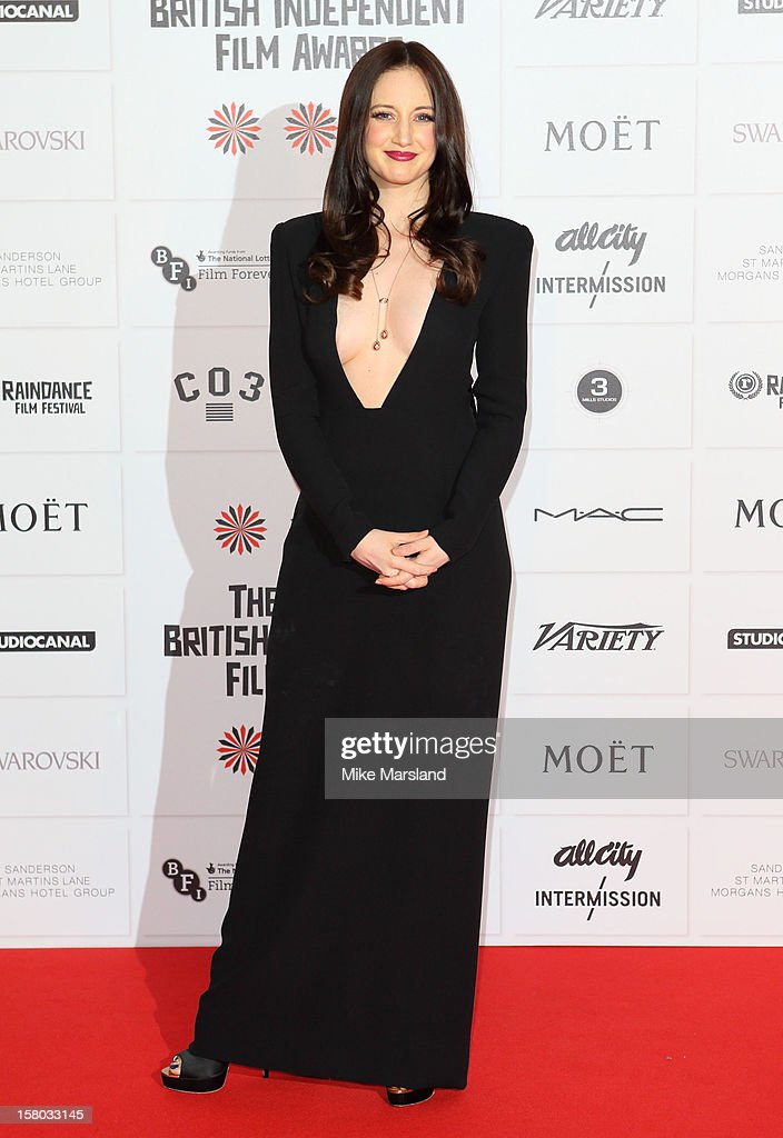 Andrea Riseborough attends the British Independent Film Awards at Old Billingsgate Market on December 9, 2012 in London, England.