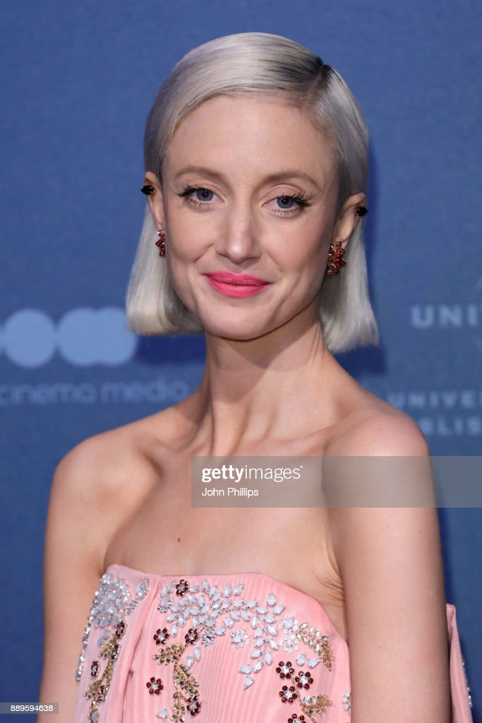 Andrea Riseborough attends the British Independent Film Awards held at Old Billingsgate on December 10, 2017 in London, England.