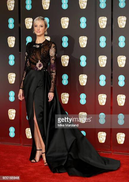 Andrea Riseborough attends the EE British Academy Film Awards held at Royal Albert Hall on February 18 2018 in London England
