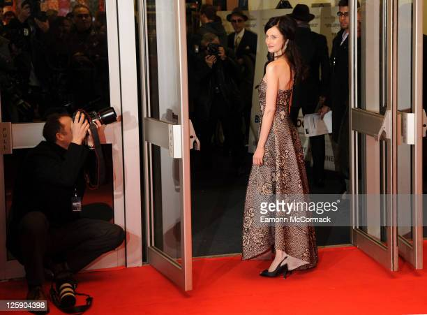 Andrea Riseborough attends the European premiere of Brighton Rock at Odeon West End on February 1, 2011 in London, England.
