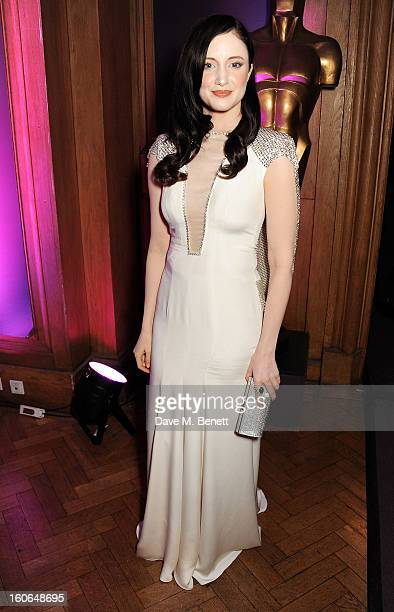 Andrea Riseborough attends the London Evening Standard British Film Awards supported by Moet Chandon and Chopard at the London Film Museum on...