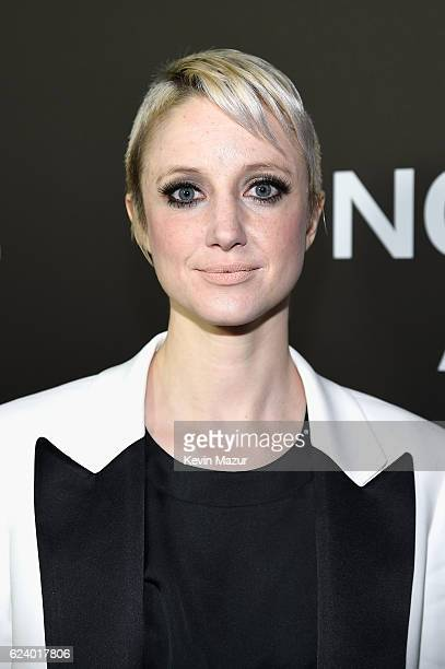 Andrea Riseborough attends the New York Premiere of Tom Ford's 'Nocturnal Animals' at The Paris Theatre on November 17 2016 in New York City