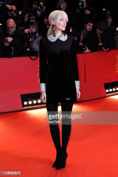 Andrea Riseborough attends the opening ceremony and The Kindness Of Strangers premiere during the 69th Berlinale International Film Festival Berlin...