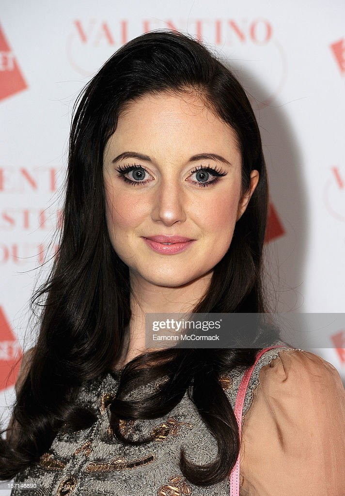 Andrea Riseborough attends the VIP view of Valentino: Master of Couture at Embankment Gallery on November 28, 2012 in London, England.
