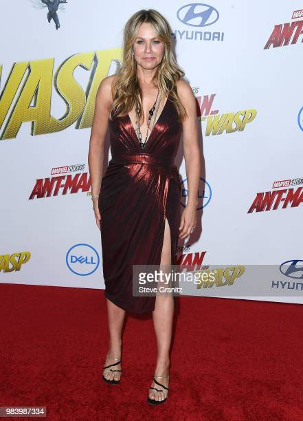 Andrea Roth arrives at the Premiere Of Disney And Marvel's 'AntMan And The Wasp' on June 25 2018 in Hollywood California