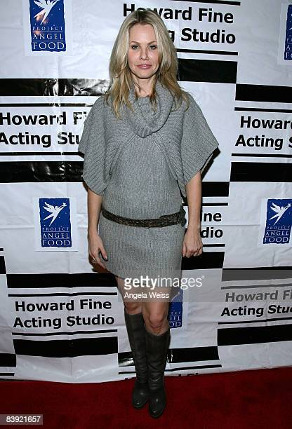 Andrea Roth arrives to Howard Fine's 50th Birthday Holiday Bash held at Boardner's on December 4 2008 in Hollywood California