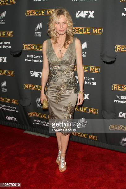 Andrea Roth during The Season Three New York Premiere Screening of 'Rescue Me' arrivals at The Ziegfeld Theater in New York New York United States