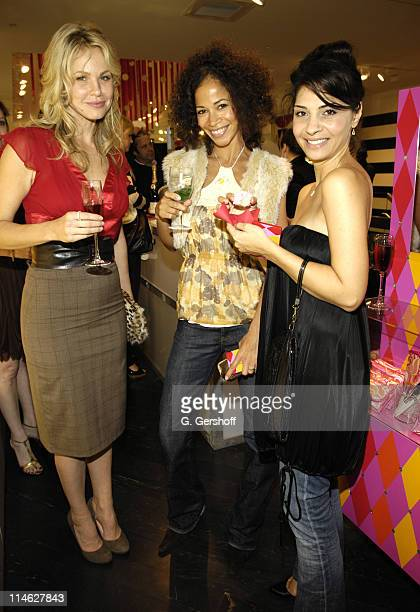 Andrea Roth Sherri Saum and Callie Thorne of 'Rescue Me'