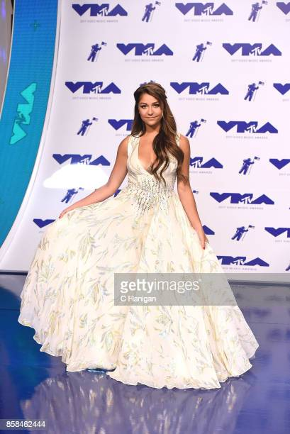 Andrea Russett attends the 2017 MTV Video Music Awards at The Forum on August 27 2017 in Inglewood California