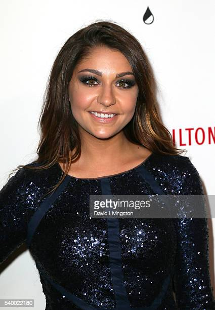Andrea Russett attends the 7th Annual Thirst Gala at The Beverly Hilton Hotel on June 13 2016 in Beverly Hills California