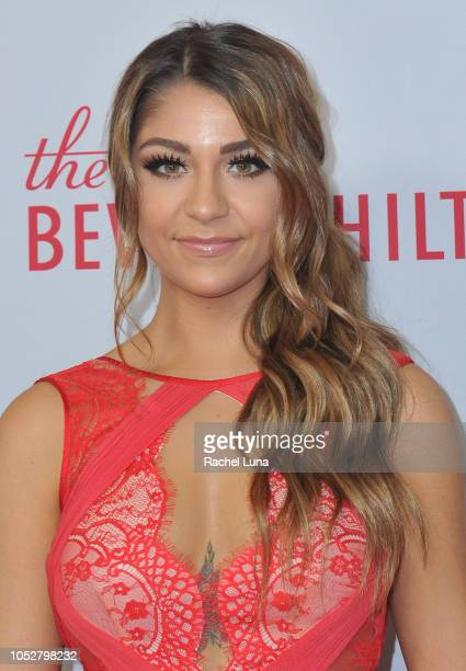 Andrea Russett attends the Streamy Awards at The Beverly Hilton Hotel on October 22 2018 in Beverly Hills California