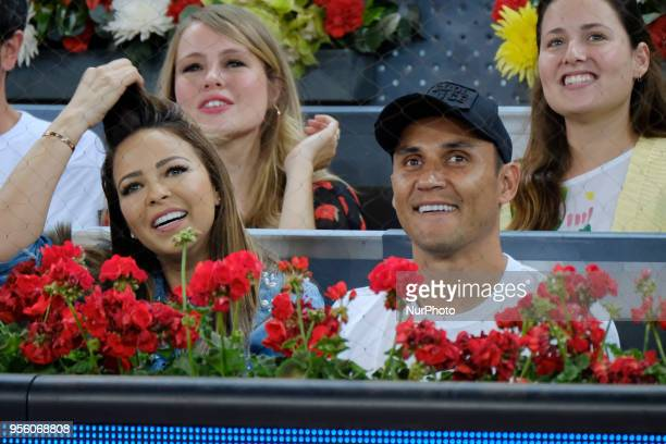 Andrea Salas and Keylor Navas