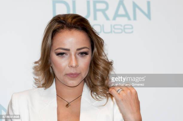 Andrea Salas attends charity jewelry presentation at Duran Store on May 4 2017 in Madrid Spain