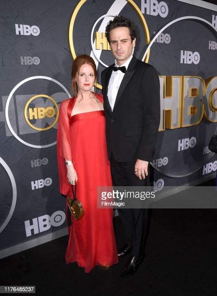 Andrea Sarubbi and Luke Kirby attend HBO's Official 2019 Emmy After Party on September 22 2019 in Los Angeles California